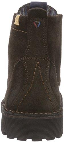 Wrangler Grinder Boot - Botas de cuero para hombre marrón - Braun (30 Dk.Brown)