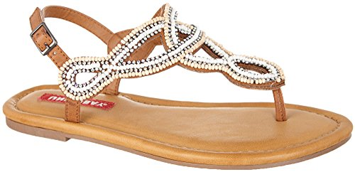 Union Bay Women's Evening Cognac Sandal