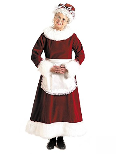 SANTA DRESS LONG 16 TO 18 (Mrs Santa Dresses)