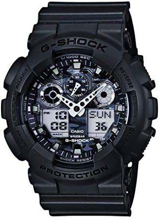 Casio 200M WR Shock Resistant Watch (Model: GA-100CF-8CR) WeeklyReviewer