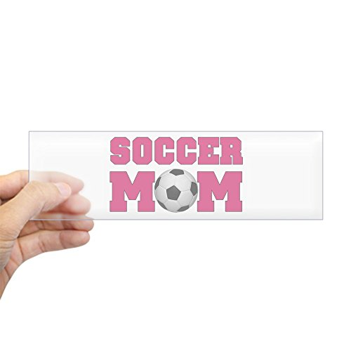 CafePress Soccer Bumper Sticker Rectangle