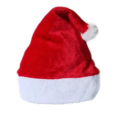 Caps Del No Blanco 2pcs Liner Tocado Santa Exquisito 15 Suave Niños Tejida Navidad Sombreros Tela Clásicas Para Rojo De Estilo wxzwAp