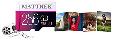 Matthek 256GB Micro SD SDXC Memory Card High Speed Class 10 With Micro SD Adapter(M239-U5) by Matthek (Image #3)
