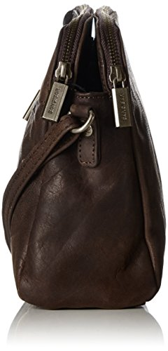 Sansibar Sansibar - Bolso bandolera Mujer Marrón (Dark Brown)