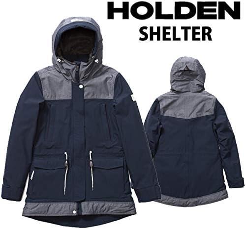 18-19 HOLDEN/ホールデン W,S SHELTER jacket レディース スノーウェア ジャケット スノーボードウェア 2019 NAVY/CHAMBRAY Medium