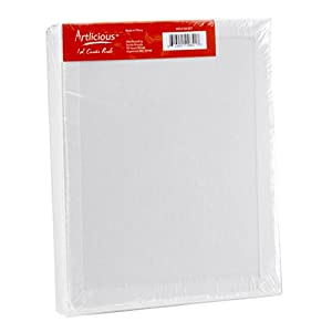 "Artlicious Canvas Panels 12 Pack - 8""X10"" Super Value Pack- Artist Canvas Boards for Painting"