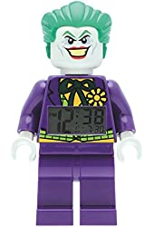 LEGO Kids' DC Super Heroes Mini-Figure Alarm Clock