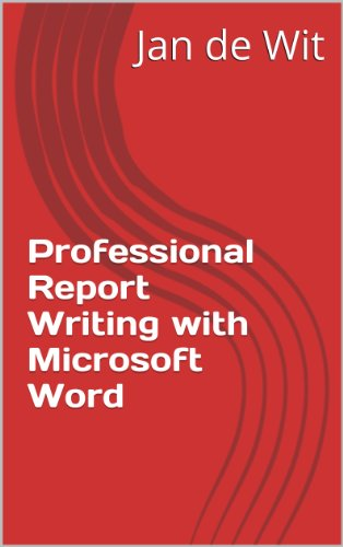 Download Professional Report Writing with Microsoft Word Pdf