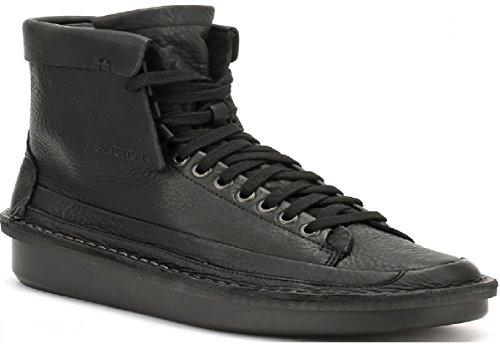 Clarks Oswyn Hi Black Leather sehr bequeme und elegant sneakers 26129256