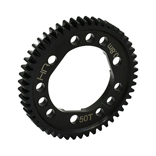 Hot Racing SSLF250D Steel Spur Gear for Center Diff (50T 0.8M/32P) - Tra 4x4 ()