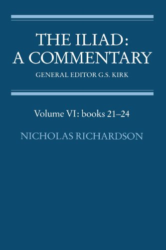 6: The Iliad: A Commentary (Volume VI: books 21-24)