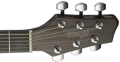 Stagg sa40dcfi - BS Guitarra Electroacústica: Amazon.es ...
