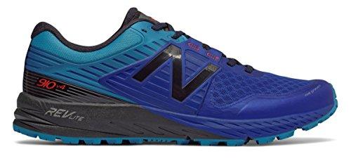 スツール従来の削る(ニューバランス) New Balance 靴?シューズ メンズランニング 910v4 Trail Pacific with Maldives Blue and Black パシフィック ブルー ブラック US 7.5 (25.5cm)