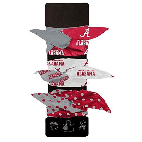 Littlearth NCAA Alabama Crimson Tide Wired Hair Tie