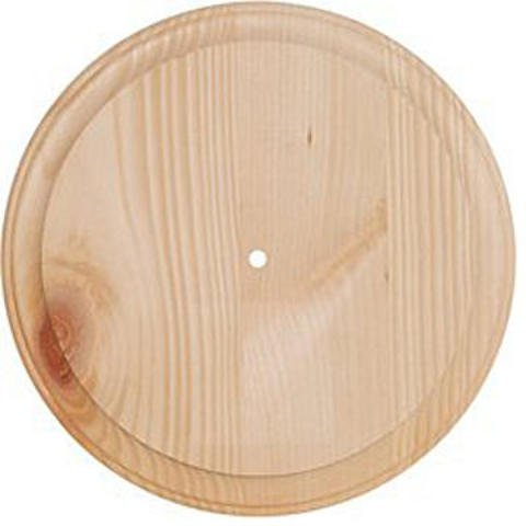 Walnut Hollow Clock Making Supplies - Unfinished Pine Clock Face, 11 In. - For 3/4 In. Movement 2 pcs sku# 1828751MA