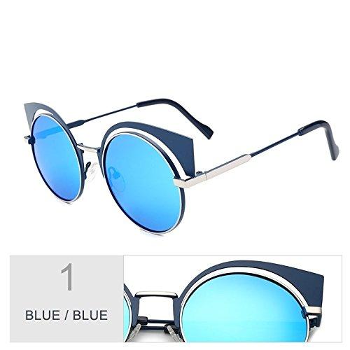 TIANLIANG04 Pistola De Gafas Uv400 Blue Sol Sol Anti De Gafas Reflejo Silver Polarizadas Blue Para Mujeres rTrwdx7q