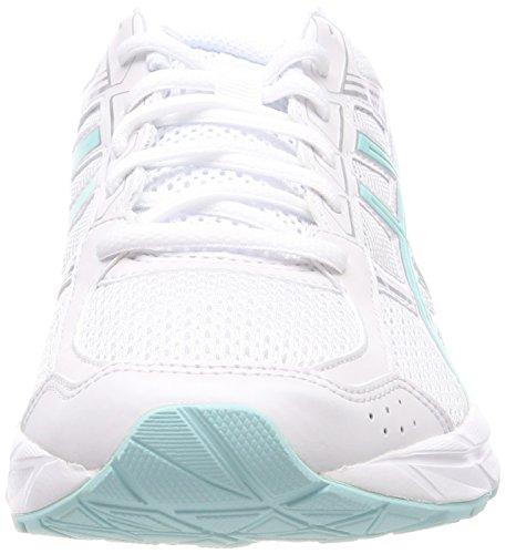 de Para Blanco Gel Contend Running Zapatillas Whitearuba 0188 Bluesilver 4 Mujer Asics AqapIxY8wA