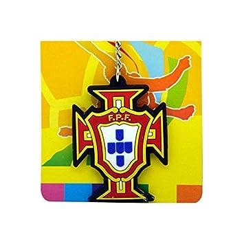 YHUJH Home Llavero Logo del Equipo del Equipo de Portugal ...