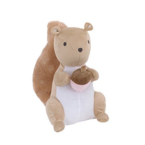 Carter's Woodland Meadow Plush Squirrel, Brown/White/Pink