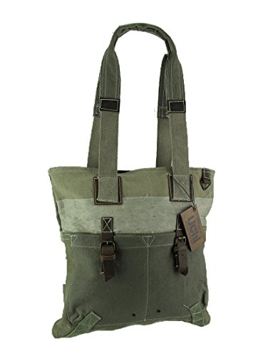 Recycled Canvas Bags Clea Ray Recycled Green Canvas