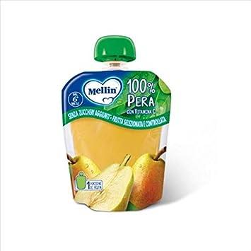 Mellin Merenda 100% Pera Con Vitamina C, 90g: Amazon.es: Salud y cuidado personal