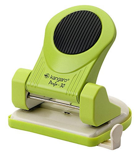 Kangaro KA30 Perfo 30 Hole Punch up to 30 Sheets, Green