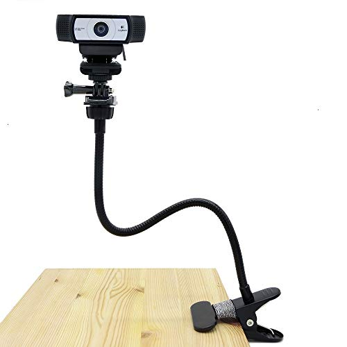 Price comparison product image Desk Mount Webcam, Webcam Flexible Mount Clamp Gooseneck Stand for for Logitech Webcam Brio 4K, C925e,C922x,C922,C930e,C930,C920,C615-15 inches