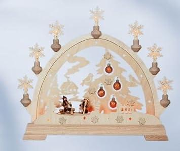 Tannenbaum Erzgebirge.Amazon De Weihnachtsdekoration Erzgebirge Holzkunst Handarbeit