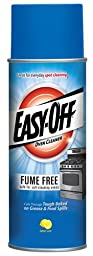 Easy-Off Fume Free Oven Cleaner, Lemon 174 oz (12 Cans x 14.5 oz)