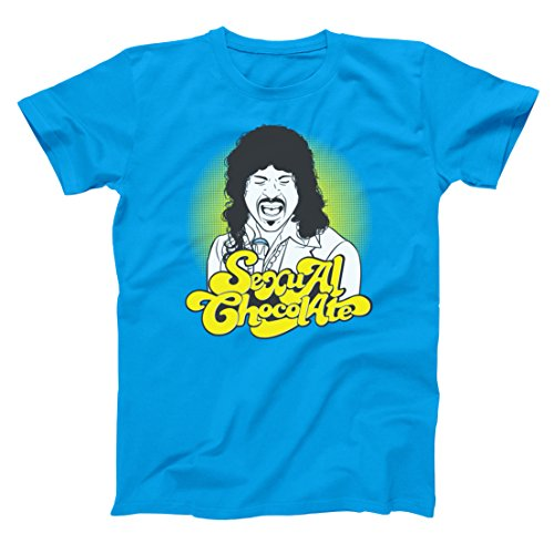 Sexual Chocolate Funny Hip Band Randy Watson Coming America Urban 80s 90s Movie Humor Mens Shirt X-Large - Fashion Urban 80s
