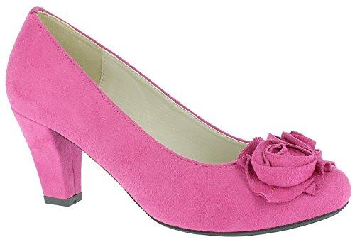 Andrea Conti - Zapatos de vestir para mujer * * Rosa