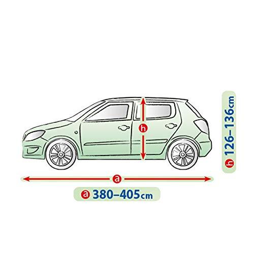 Voiture /à hayon Taille 380 /à 405 cm Anti-UV et Respirante ROAD CLUB Housse de Protection carrosserie ext/érieur pour citadine imperm/éable