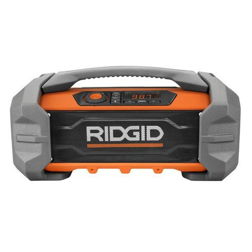 Ridgid R84087 GEN5X 18-Volt Jobsite Radio with Bluetooth Wireless (18 Volt Radio)