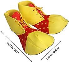 Tinksky Zapatos de payaso grandes Dot Halloween disfraz payaso ...