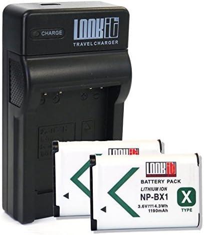 Lookit Chargeur 2x Lookit Batterie Bx1 Sony Hx350 Sony Dsc Rx100 Mark V Sony Dsc