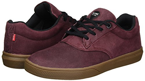 0882dae17b Amazon.com  Globe The Eagle Sg Mens Trainers Burgundy - 8 UK  Shoes