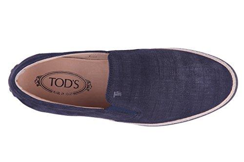 Tods slip on uomo in camoscio sneakers nuove originali blu Precio Barato Para La Venta Precio De Fábrica Venta Al Por Mayor Del Mejor Barato Disfrutar Comprar Barato Extremadamente jVhO46TLX9