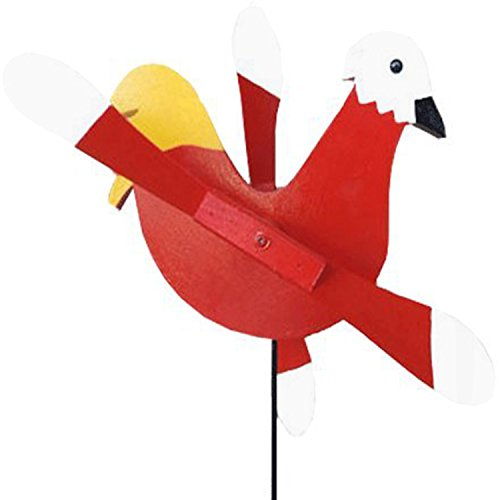 Amish-Made Whirlybird Yard Decoration, (Amish Rooster)