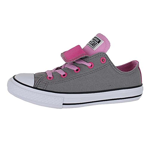 Cadet Greyicy AS Pink Double Taylor Ox Converse Unisexe laçage Tongue Chuck White wqFHtx4nz8