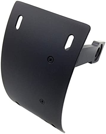 B00RW3HIW6 SMT-Curved Mount License Plate Tag Holder Bracket Compatible With Yamaha Warrior V-Max Black