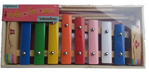 Sassafras Diddy-Doo-Dahs Bird on Branch Wooden Xylophone