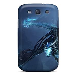 Premium Tpu World Of Warcraft Dragon Cover Skin For Galaxy S3