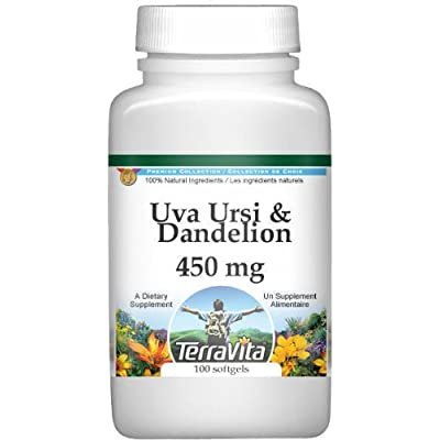 Uva Ursi and Dandelion Combination - 450 mg (100 Capsules, ZIN: 513000): Health & Personal Care
