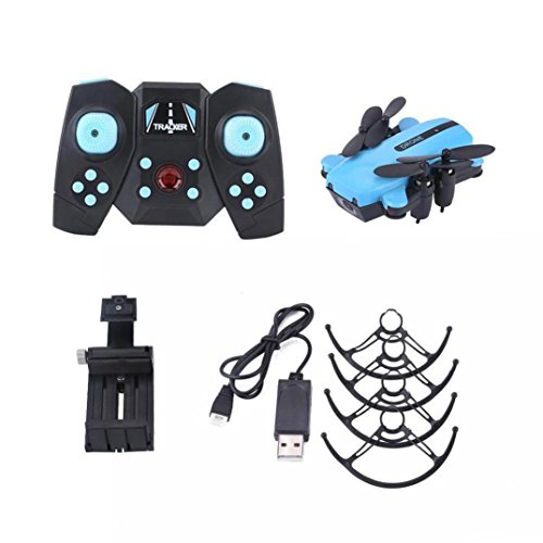 - YJYdada L200 2.4GHz Mini Foldable Quadcopter Pocket Remote Control Helicopter RC Drone (Blue)