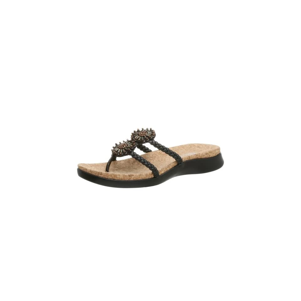 Kenneth Cole REACTION Womens Glambitious Sandal,Black,9.5 M