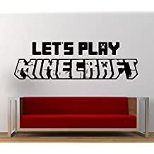 USA Decals4You   Popular Game Wall Stickers Let's Play Decals Vinyl Decor MK0367