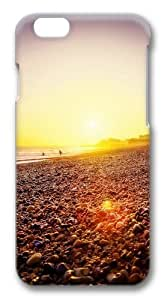 Brighton Beach Sunset Custom Case For HTC One M8 Cover Polycarbonate 3D