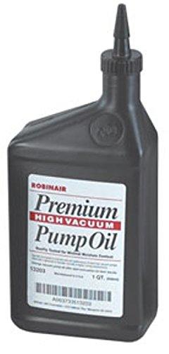 Robinair 13203.0 Premium High Vacuum Pump Oil - 1 Quart (Air Pump Oil)