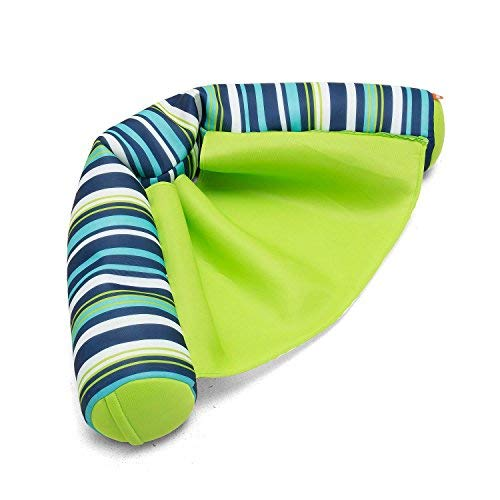 Big Joe Noodle Sling Cool Cozumel Stripe with Lime seat, One Size