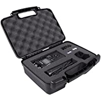 STURDY Recorder and Accessory Carry Travel Bag Case w/ Dense Foam fits Tascam DR-05 , DR-40 , DR-22L , DR-100MKll , DR-100MKlIl , DR-44WL Recorder , Mini Tripod , Adapter , Mic Pop Windscreen and More